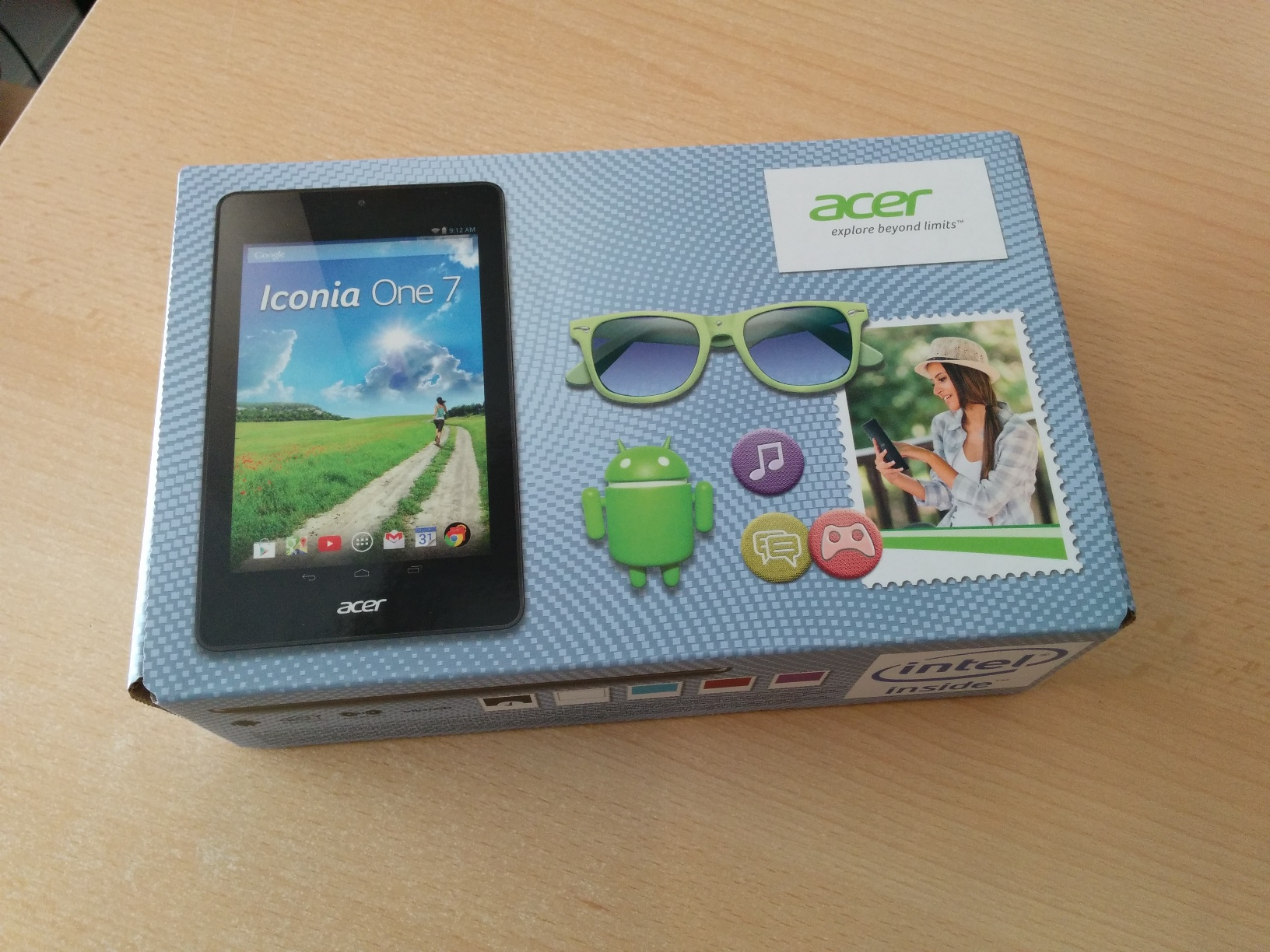 Acer Iconia B1-730HD Box